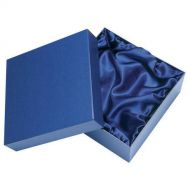 Blue Presentation Box Fits 2 Wine Glasses