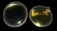 Plain Black Lapel Pin Badges 25mm 1 House School Merit Various Colours