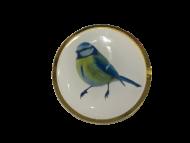 Blue Tit Lapel Pin Badge 25mm