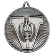Victory Torch Deluxe Medal Antique Silver 2.35in : New 2019