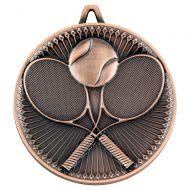 Tennis Deluxe Medal Bronze 2.35in : New 2019