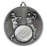 Cricket Deluxe Medal Antique Silver 2.35in : New 2019