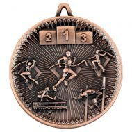 Athletics Deluxe Medal Bronze 2.35in : New 2019