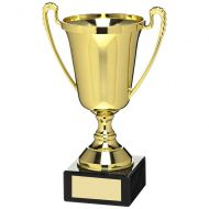 Gold Plastic Cup Trophy Award - 7in : New 2018
