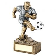 Bronze Pewter Football Beasts Figure Trophy 6.75in : New 2019