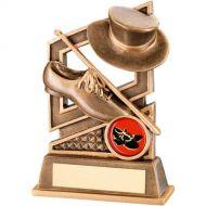 Bronze/Gold Tap Dance Diamond Series Trophy 5.25in