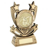 Bronze Gold Shooting Star Series with Basketball Insert Trophy Award 5in : New 2020
