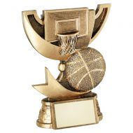 Bronze Gold Presentation Cup Range For Basketball Trophy Award 5.75in : New 2020