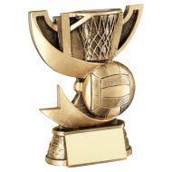 Bronze Gold Presentation Cup Range For Netball Trophy Award 5.75in : New 2020