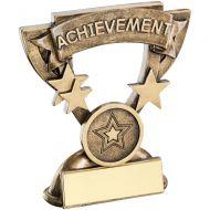 Bronze/Gold Achievement Mini Cup Trophy - 3.75in