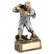 Bronze Pewter Golf Beasts Figure Trophy 6.75in : New 2019