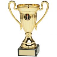 Gold Plastic Lined Cup Trophy Award - 5.5in