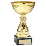 Gold Mini Diamond Stem Trophy 5in : New 2019