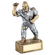 Bronze Pewter Darts Beasts Figure Trophy 6.75in : New 2019