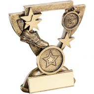 Bronze/Gold Athletics Mini Cup Trophy - 3.75in