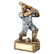 Bronze Pewter Cricket Beasts Figure Trophy 6.75in : New 2019