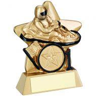 Gold/Black Go-Kart Mini Star Trophy 3.75in