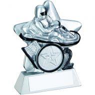 Silver/Black Go-Kart Mini Star Trophy 3.75in