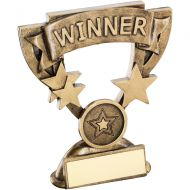 Bronze/Gold Winner Mini Cup Trophy - 4.25in