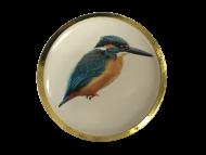 Kingfisher Lapel Pin Badge 25mm