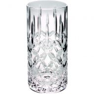 405ml Highball Glass Tumbler Fully Cut 6in