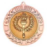 Wreath Medal 2.75in Bronze