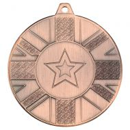 Union Flag Medal Bronze 2in : New 2020