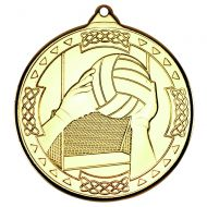 Gaelic Football Celtic Medal Gold 2in
