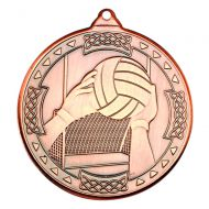 Gaelic Football Celtic Medal Bronze 2in
