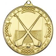 Hurling Celtic Medal Gold 2in