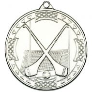 Hurling Celtic Medal Silver 2in
