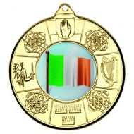 Four Provinces Medal Gold 2in
