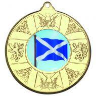 Scotl Medal Gold 2in