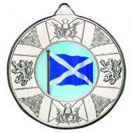 Scotl Medal Silver 2in