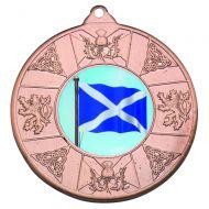 Scotl Medal Bronze 2in