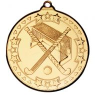 Hockey Medal Gold 2in
