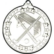 Hockey Medal Silver 2in