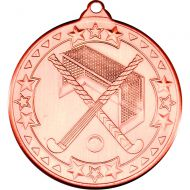 Hockey Medal Bronze 2in
