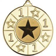 4 Star Medal - 1st Gold 2in