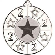4 Star Medal - 2nd Silver 2in