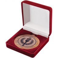 Deluxe Red Medal Box (50/60/70mm Recess) 3.5in