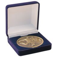 Deluxe Blue Medal Box (50/60/70mm Recess) 3.5in