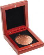 Rosewood Medal Box (50mm Recess) 3.5in