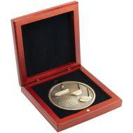 Rosewood Medal Box (70mm Recess) 4.25in