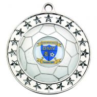 Football Medal Silver 2.75in