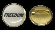 FREEDOM LOCKDOWN 2020 Lapel Pin Badge Pandemic NEW