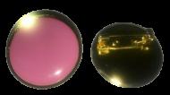 Plain Pink Lapel Pin Badges 25mm 1 House School Merit Various Colours